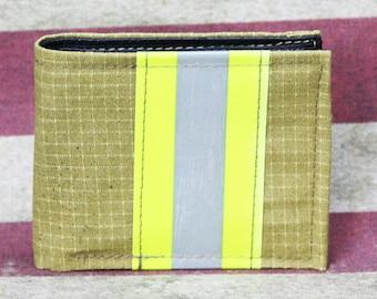 Firefighter Bi-Fold Repurposed Turn-out Gear Wallet