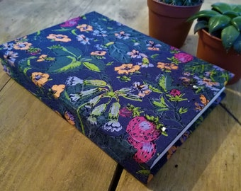 A6 Hand bound Notebook, Diary, Sketchbook, Journal | Nature