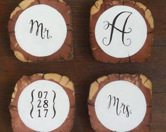 Wedding Coasters - Wedding Gift