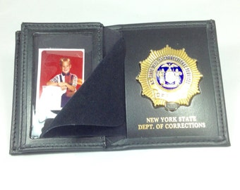 Double ID wallet with credit card slots
