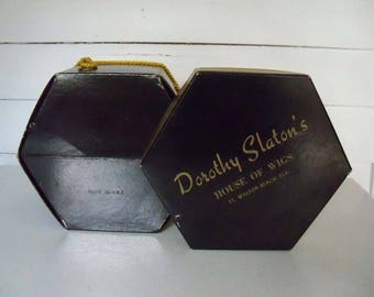 PRICE REDUCED - Dorothy Slaton's Vintage Cardboard Wig Box