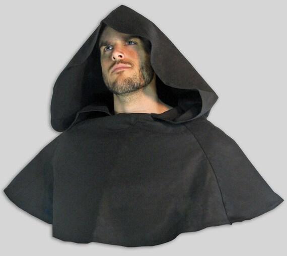 hooded cowl monk robin hood medieval hood