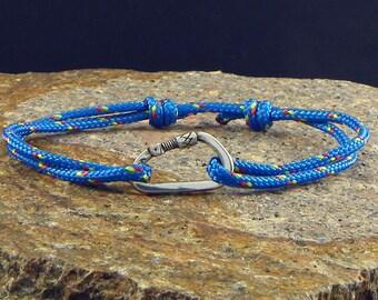 Bracelet Climber carabiner in Silver 925