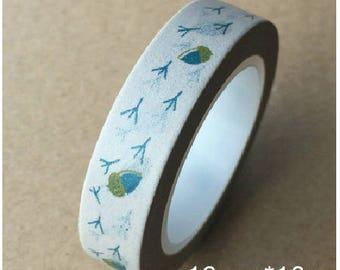 Washi tape (washi) - No birds