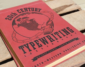 Vintage 1940's 20th Century Typewriting Course