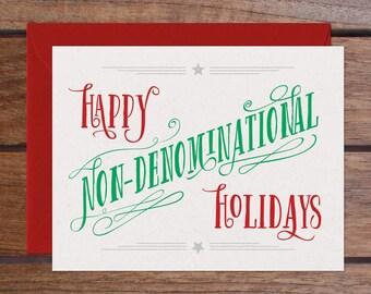 Non-Denominational Set (8 Cards)