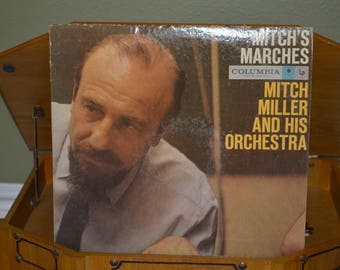 Vintage Record Mitch Miller: Mitch's Marches Album CL-1102