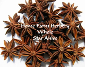 Gourmet Whole Star Anise  a beautiful and intricate all around, in taste, aroma and appearance Order now