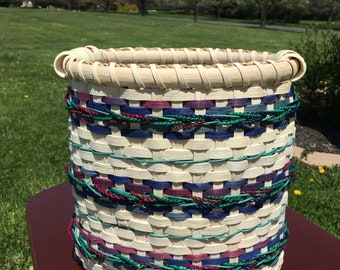 Jewel-tone Waste Paper Basket