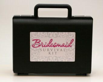 DIY Bridesmaid Emergency Survival Kit Case
