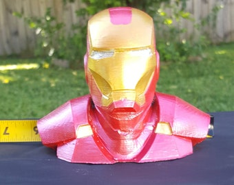 4 inch bust of Iron Man