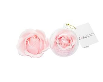 Soap Petal Bath Bomb 'Rose Petal'  (Soap Roses)
