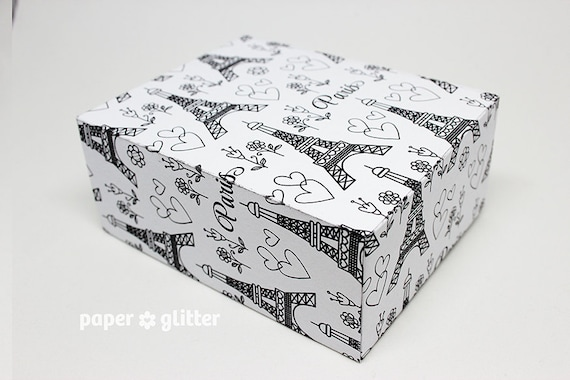 Book Cover Wrapping Paper : Printable gift wrapping paper or book cover pdf paris ooh la