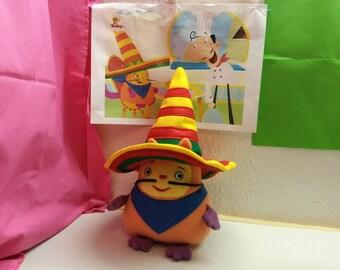 Plush toy just like Hungry Henry HANDMADE