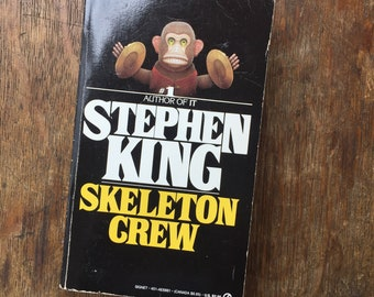 Skeleton Crew, Horror, Anthology, Stephen King, 1986, The Mist, The Raft, Nona, Survivor Type, Gramma, The Reach, Classic King,