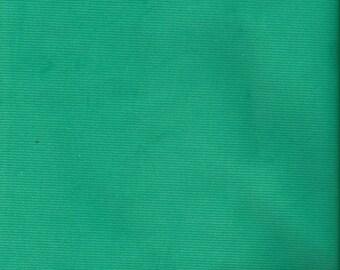 "RALPH LAUREN Green Stretch Corduroy Fabric. 44"" wide."