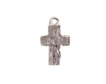 Nunn Design ® Rustic Cross Charm