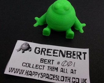 3D Printed 'Bert' (Mystery Colour!)
