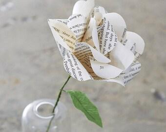 Literary Paper Rose