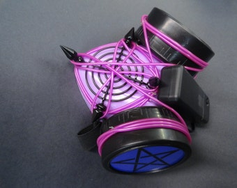 Purple Star Respirator with PurpleLed wire