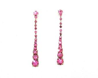 Crystal Pink Earrings