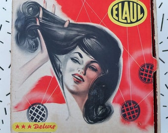 Hair dryer / blow dryer ELAUL VINTAGE 50's