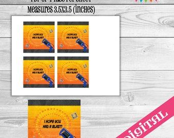 DIGITAL Dart Gun Tags