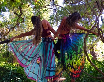 Adult Butterfly Wings-- Capes/Bustle Skirt/Bathing Suit Cover/Costuming/Decoration