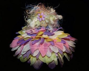 Lilac the Flower Petal Faerie, Fairy, OOAK