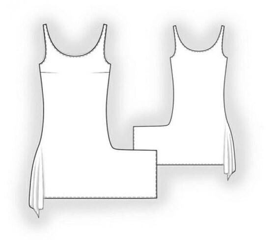 Lekala 5899 Kleid PDF Muster Nähmuster PDF