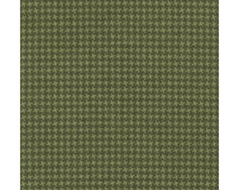Maywood Woolies Green Forest Olive Weave FLANNEL 18127-G2 Fabric BTY