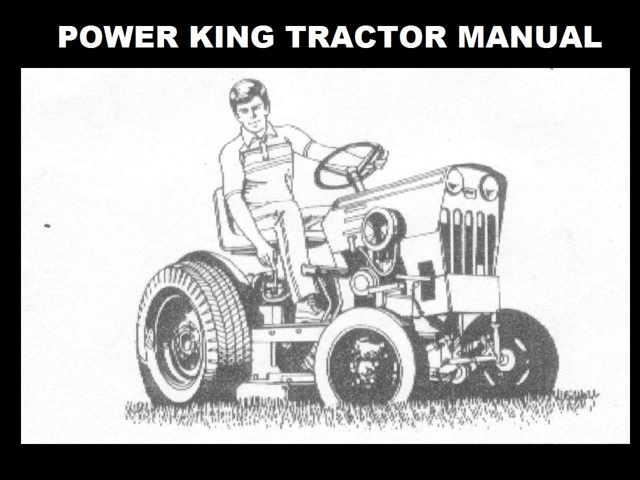 power king 1614 tractor wiring diagram