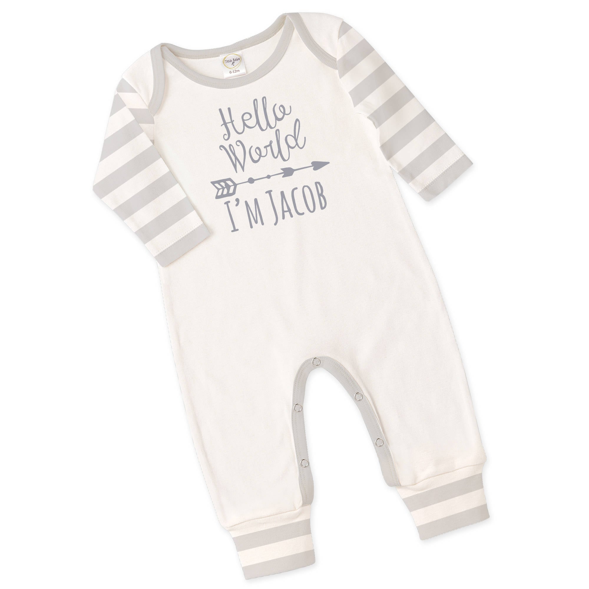 Personalized Newborn ing Home Outfit Monogrammed Newborn Outfit