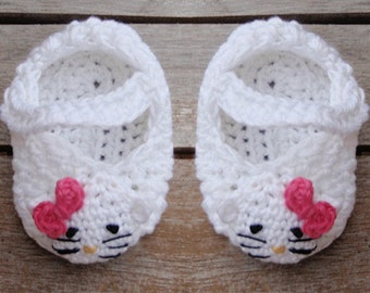 Baby  booties PDF Crochet pattern