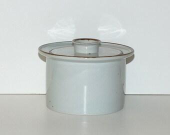Dansk Designs Niels Refsgaard Brown Mist Round Covered Casserole, circa 1960s