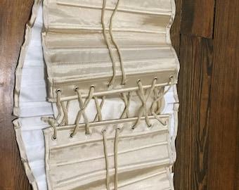 Deep Ivory Steel Boned Underbust Waist Corset