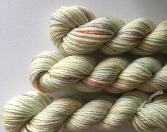 "Deluxe sock yarn 1 x 10 g mini skein ""Umami"""