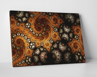 Fractal Art. Gallery Wrapped Canvas Print