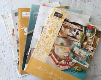 Stampin Up Magazine/Catalog/Ideabooks from 2008 to 2016, 6, scrapbooking magazines, idea book, papercrafts, card making, home decor, holiday