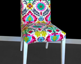 Colorful Flower IKEA HENRIKSDAL Chair Cover