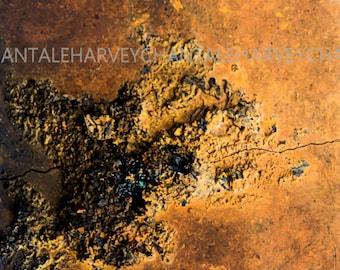 Photo print, art photography, abstract, giclée printing, 8x12, 10x15, 12x18, 14x21, 16x24 ,18x27, design interior, wall art, rust, concrete