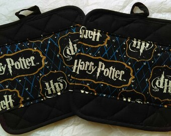 Harry Potter Kitchen Pot Holders - Hot Pads
