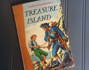Treasure Island by Robert Lewis Stevenson 1964 4th Edition Scholastic Star Edition