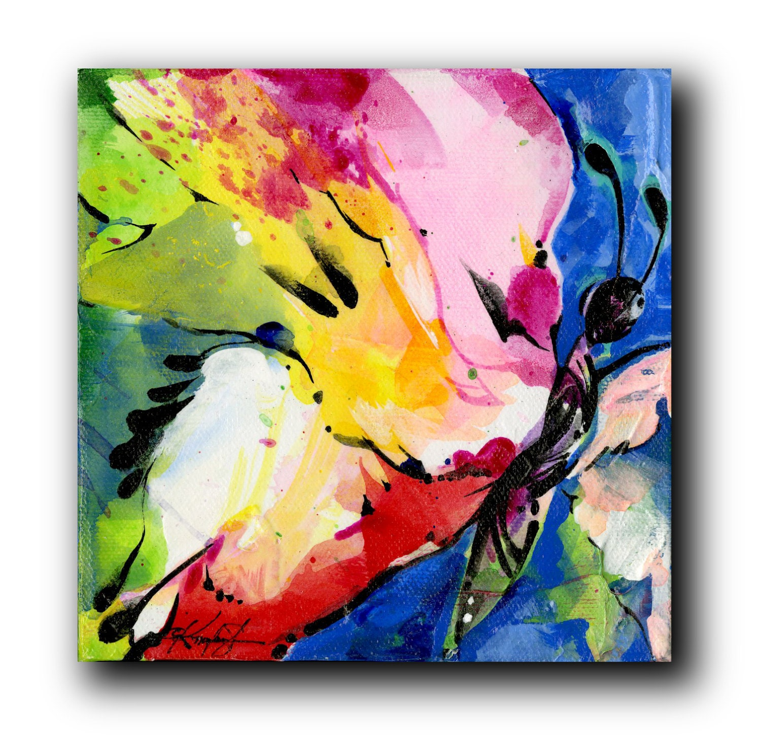 Abstract butterfly paintings images for How to make a good painting