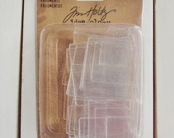 Fragments, Tim Holtz, Ideaology, 34 pc., for papercrafting, mixed media, jewelry making, art journaling, scrapbooking, card making,