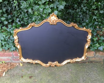Gold chalkboard - perfect for a wedding or your business
