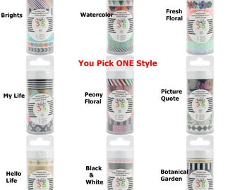 You pick - Happy Planner Washi Tape 7/Pkg Create 365 MAMBI