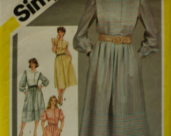 Simplicity 6243 Misses's Pullover Dress Sewing Pattern New Uncut Size 18