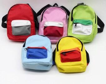 """Perfect 4"""" Mini Backpack - for 18"""" Doll like American Girl"""