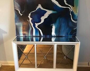 Acrylic Abstract Art - Galaxy
